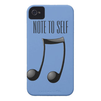 Musical - Note to Self Case-Mate iPhone 4 Cases