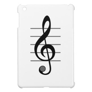 Musical Note Unique Design iPad Mini Cover
