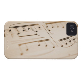 Musical Notes 2 Case-Mate iPhone 4 Cases