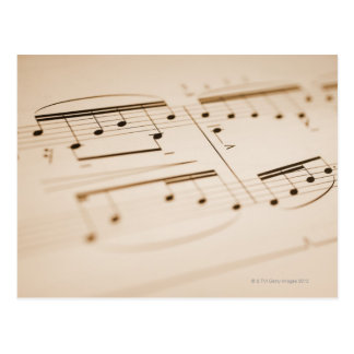 Musical Notes 2 Postcard