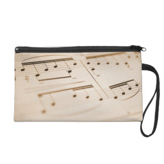 Musical Notes 2 Wristlet