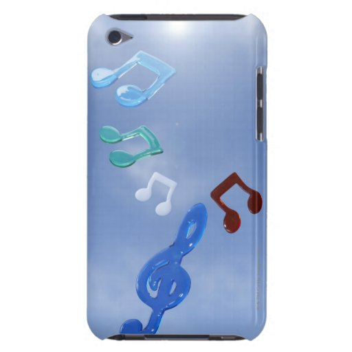 Musical Notes 3 Barely There iPod Covers