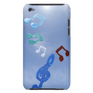 Musical Notes 3 iPod Touch Case-Mate Case