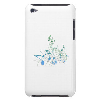 Musical Notes Barely There iPod Covers