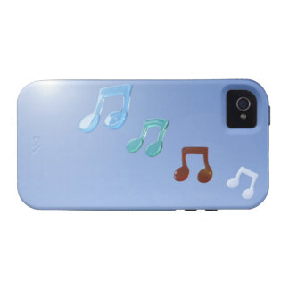 Musical Notes iPhone 4 Cover