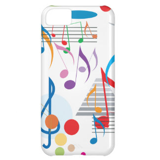 Musical Notes iPhone 5C Covers