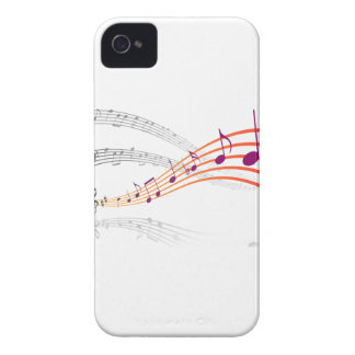 Musical Notes Blackberry Bold Cases