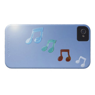 Musical Notes Case-Mate iPhone 4 Cases