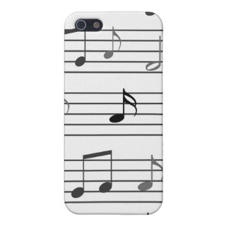 Musical Notes Case For iPhone 5/5S