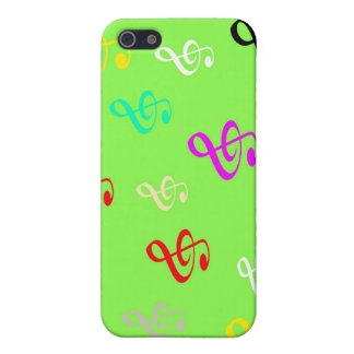 Musical Notes Case For The iPhone 5