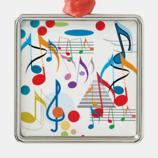 Musical Notes Christmas Tree Ornaments