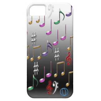 Musical notes design Iphone case cover Case For The iPhone 5