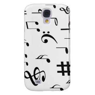 Musical Notes Galaxy S4 Case
