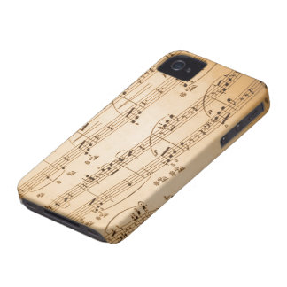 Musical Notes iPhone 4/4S Case