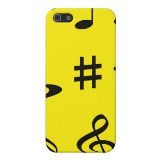 Musical Notes iPhone 5/5S Case