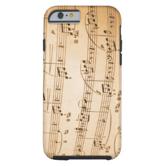 Musical Notes iPhone 6 case Tough iPhone 6 Case