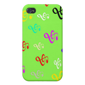 Musical Notes iPhone 4 Covers