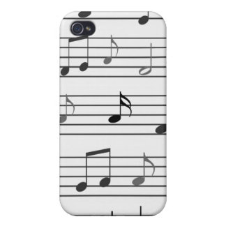 Musical Notes Covers For iPhone 4
