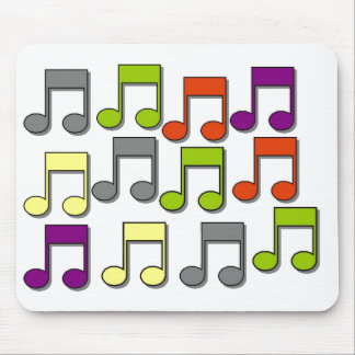 Musical Notes Mouse Mat