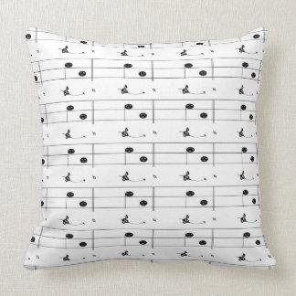 Musical Notes Music Musicians Decor CricketDiane Cushion