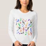 Musical Notes Music Shirt