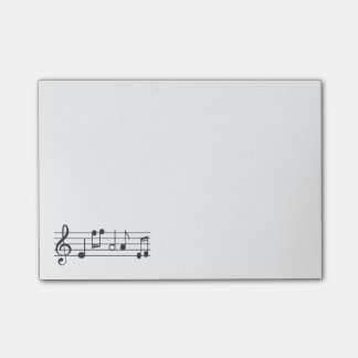 Musical Notes Notepad