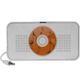 Musical Notes on CD PC Speakers