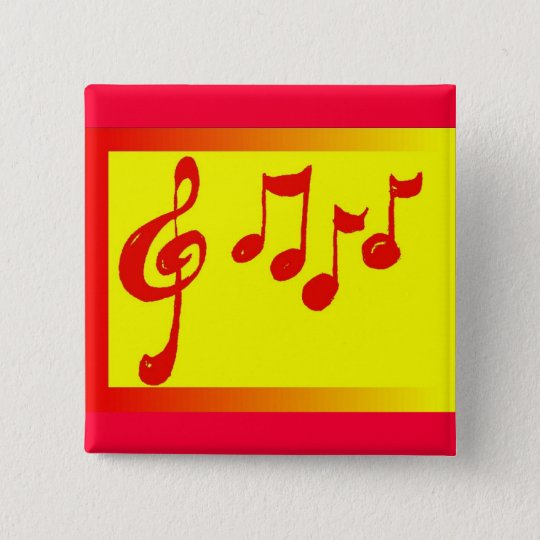 musical notes pin