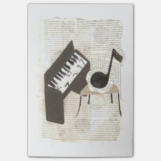 Musical Notes Post-It Notes