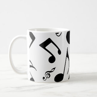 Musical Notes - Sheet Music Design Coffee Mug