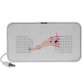 Musical Notes Speaker System