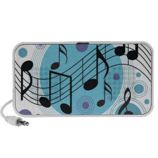 Musical Notes iPod Speaker