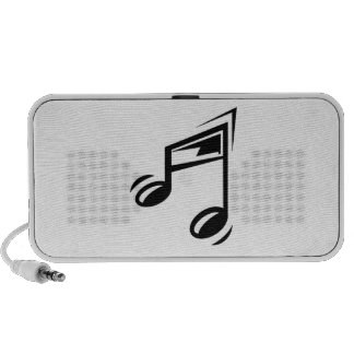 Musical Notes Laptop Speaker