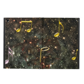 Musical Notes Starry Night Sky, iPad Air Case