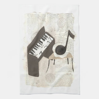 Musical Notes Towel