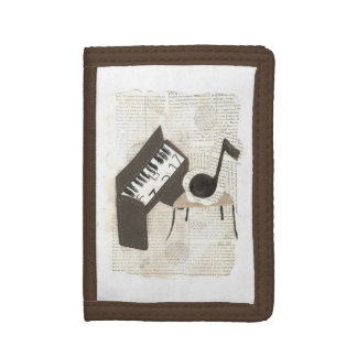 Musical Notes Wallet