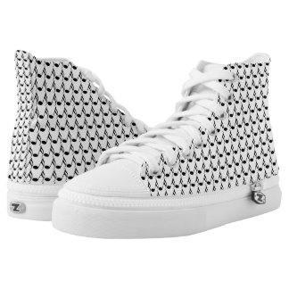 Musical notes Zipz Printed Shoes