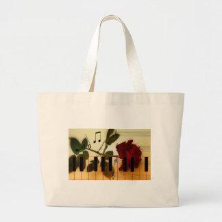 Musical Panio Keys Canvas Bags