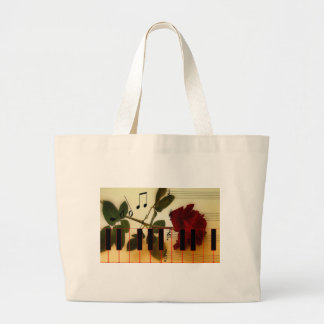 Musical Panio Keys Large Tote Bag