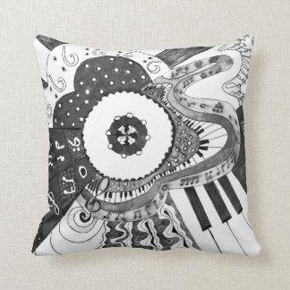 Musical pattern. cushion