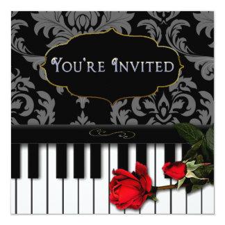 MUSICAL/PIANO INVITATION - MULTI PURPOSE INVITATIONS