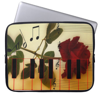 Musical Piano Keys Laptop Sleeve