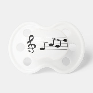 Musical Score Baby Pacifiers