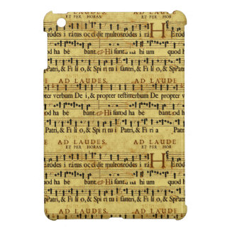 Musical Score Notation Old Paper Design Cover For The iPad Mini