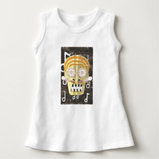Musical Skull Baby Dress