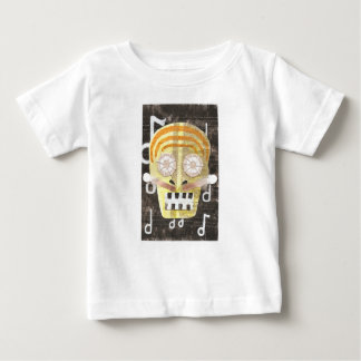 Musical Skull Baby T-Shirt