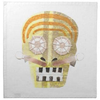 Musical Skull Cloth Napkins