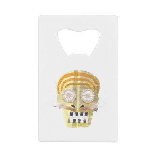 Musical Skull Credit Card Bottle Opener