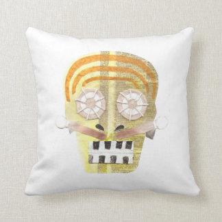 Musical Skull Cushion