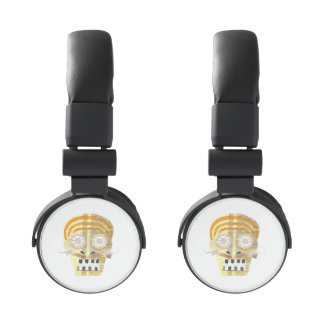 Musical Skull Headphone Headphones
